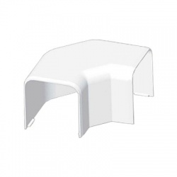 8543 HB 60x60 ohybový kryt, biely