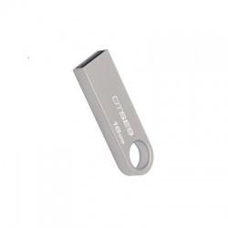 16GB USB 2.0 kľúč, strieborný