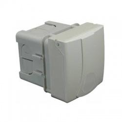 IZV 1653 zásuvka so škatuľou pod omietku, IP 44