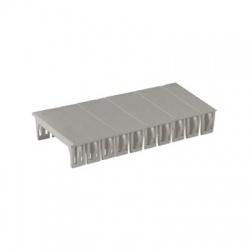 Záslepka, 5 modulov, sivá
