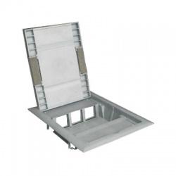 KOPOBOX 57 LB rám podlahový, sivý