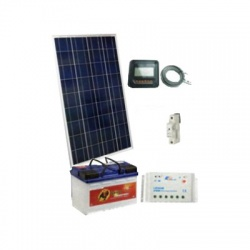 140Wp/12V solárny systém