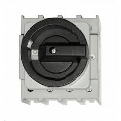 Vypínač 125A 3-pólový, na panel, čierny