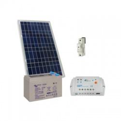 30Wp/12V solárny systém