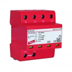 DSH TT 255 kombinovaný zvodič s vnútorným zapojením