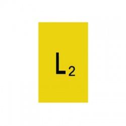 L2 30x15mm, označovacia nálepka