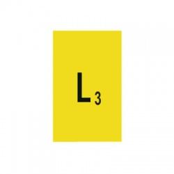 L3 30x15mm, označovacia nálepka