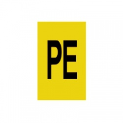 PE 30x15mm, označovacia nálepka