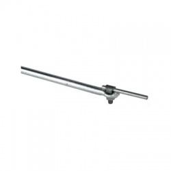 Zachytávacia tyč s uchytením cez KS skrutku 1500mm, FeZn
