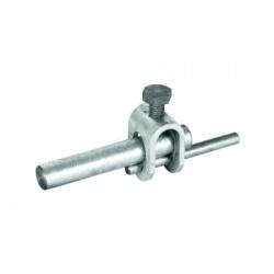 Svorka pre kruhový vodič Rd 8-10 tyč 16mm, FeZn