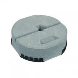 Betónový podstavec D 337mm/17kg s klinom Rd16 + plastová podložka