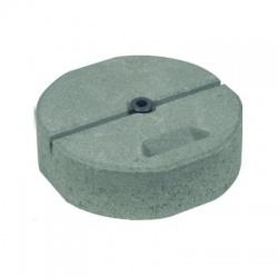Betónový podstavec D 337mm/17kg so závitom M16