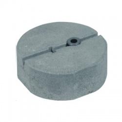 Betónový podstavec D 240mm/8,5kg so závitom M16 s úchytom pre dilatačné tyče