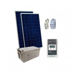 530Wp/12V solárny systém