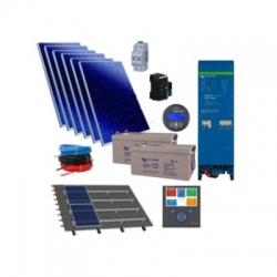 1,59kWp/1600VA hybridný solárny systém EasySolar
