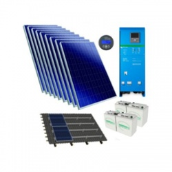2,39kWp/3000VA/24V hybridný solárny systém EasySolar