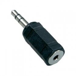 Adaptér Jack 2,5 stereo vidlica/Jack 3,5 stereo zásuvka