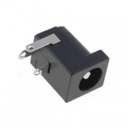Konektor DC F 2,5x5,5mm do DPS 90°, plastový