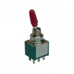 KNX2 páčkový prepínač, 2-pólový, ON-ON
