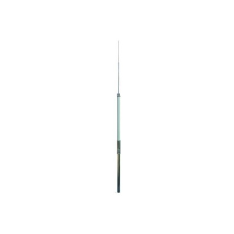 1-dielna podporná trubka D 50, 3200mm, M10, GFK/Al + zachyt. tyč 1000mm