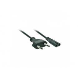 Napájací kábel 2-pin, 230V, 2,5 A, 2m