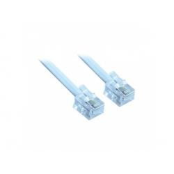 Telefónny kábel, RJ11 konektor - RJ11 konektor, 2m