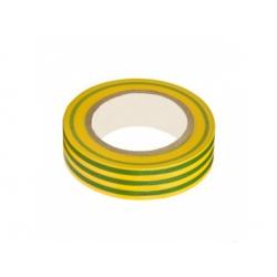 15x0,13mm izolačná páska, zelenožltá 10m