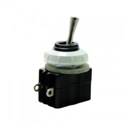 3232-01870 páčkový prepínač, 1-pólový, striedavý, bielo čierny