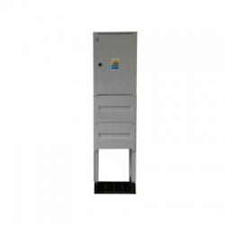 PRE Dp elektromerový rozvádzač pilierový, 2-tarifný bez ističov