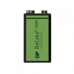9V 200mAh nabíjateľná batéria
