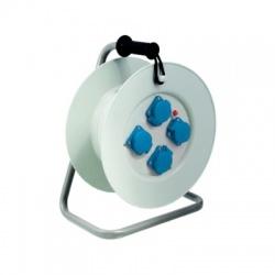 Bubon na predlžovací kábel, 4x230V zásuvka + poistka, priemer 340mm