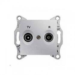 SDN3301660 TV-R zásuvka, 1dB, koncová, hliník