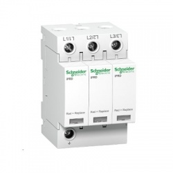 A9L40301 iPRD40r modulárny zvodič prepätia - 3P - 350V - s diaľkovým prenosom