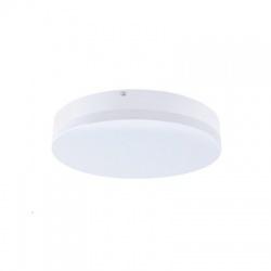 LED vonkajšie osvetlenie, IP44, 24W, 1800lm, 4000K, 28cm, neutrálna biela, guľaté
