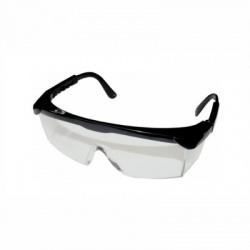 Pracovné okuliare s čiernym rámom