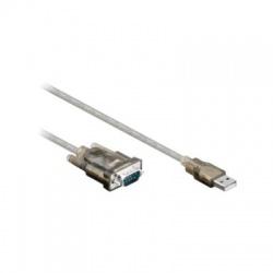 Adaptér USB 2.0 A vidlica - RS232, 1,5m