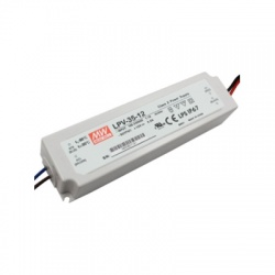 LPV-35-12 LED elektronický transformátor