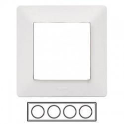4-rámik, biely, 754004