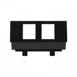 5014M-B01018 maska nosná pre 2xRJ45 zásuvku