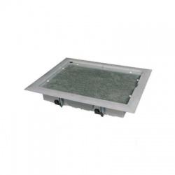 PP 80/K-5 LB krabica pretahovacia podlahová, sivá