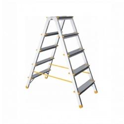 Rebrík obojstranný 5 stupňový