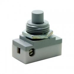 3274-01810 tlačidlový prepínač, 1-pólový, sivá