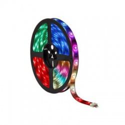 7,2W/m, 12V, IP20, RGB+W, 30 LED/m, LED pás, meniace sa farby + biela