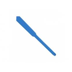 6,4/3,2 zmrštovacia bužírka, modrá