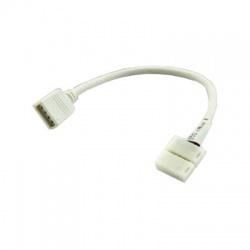 Káblová prepojka RGB CLIP-zásuvka 4-Pin 10mm
