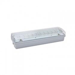 CARLA 30 LED, 5,5W, 1h, IP65 núdzové svietidlo