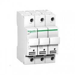 A9N15656 poistkový odpínač 3-pólový, 25A, 10,3x38mm