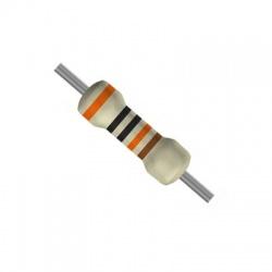 Rezistor metalizovany 1K 0,6W