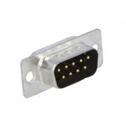 Zástrčka na kábel, 2-radový, 9-pin