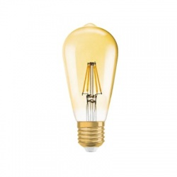 1906 CL EDISON GOLD 2,8 W/824, E27, LED žiarovka